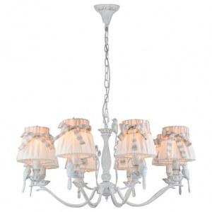 Фото 2 Подвесная люстра ARM013-08-W в стиле флористика
