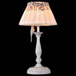 Фото 2 Настольная лампа декоративная ARM013-11-W в стиле флористика