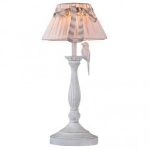 Фото 1 Настольная лампа декоративная ARM013-11-W в стиле флористика
