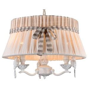 Фото 1 Подвесной светильник ARM013-33-W в стиле флористика