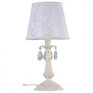 Фото 1 Настольная лампа декоративная ARM390-00-W в стиле флористика