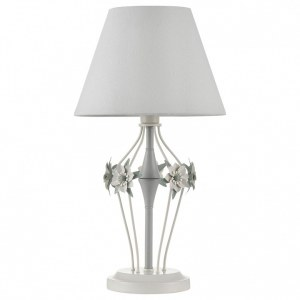 Фото 1 Настольная лампа декоративная ARM790-TL-01-W в стиле флористика