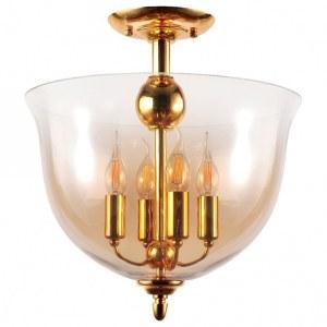 Фото 1 Светильник на штанге ATLAS PL4 GOLD в стиле классический