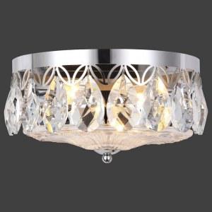 Фото 2 Накладной светильник CANARIA AP2 NICKEL в стиле модерн