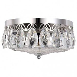 Фото 1 Накладной светильник CANARIA AP2 NICKEL в стиле модерн
