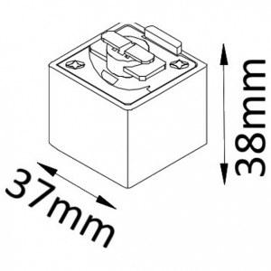 Схема Крепление для трека CLT 0.212 03 BL в стиле