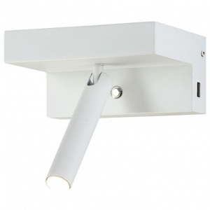 Бра Crystal Lux CLT 228W USB WH