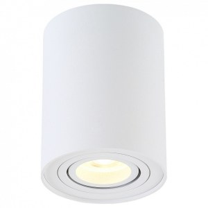 Фото 2 Накладной светильник CLT 410C1 WH в стиле техно
