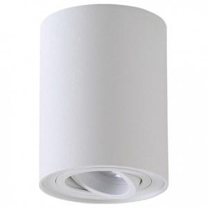 Фото 1 Накладной светильник CLT 410C1 WH в стиле техно
