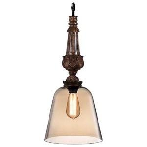 Фото 1 Подвесной светильник DECO SP1 A AMBER в стиле флористика