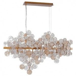 Фото 2 Подвесной светильник DESEO SP12 L1000 GOLD в стиле модерн