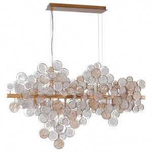 Фото 1 Подвесной светильник DESEO SP12 L1000 GOLD в стиле модерн
