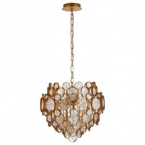 Фото 1 Подвесной светильник DESEO SP6 D460 GOLD в стиле классический