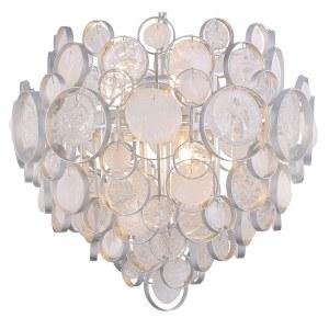 Фото 1 Подвесной светильник DESEO SP6 D460 SILVER в стиле модерн