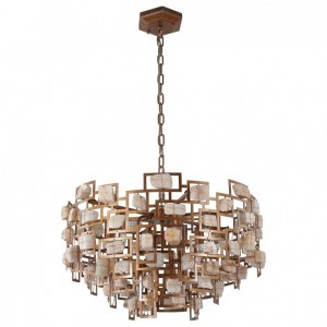 Фото 1 Подвесной светильник DIEGO SP9 D600 GOLD в стиле модерн
