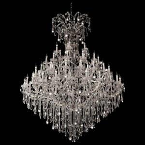 Фото 1 Подвесная люстра DIVA SP60 CHROME в стиле классический