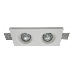 Фото 1 Встраиваемый светильник DL002-1-02-W в стиле техно