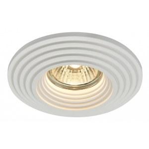Фото 1 Встраиваемый светильник DL004-1-01-W в стиле техно