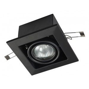 Фото 1 Встраиваемый светильник DL008-2-01-B в стиле техно