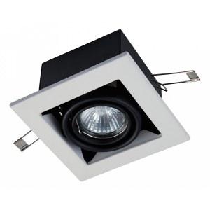 Фото 1 Встраиваемый светильник DL008-2-01-W в стиле техно