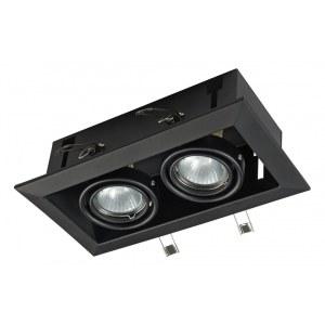 Фото 1 Встраиваемый светильник DL008-2-02-B в стиле техно