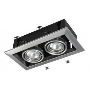 Фото 1 Встраиваемый светильник DL008-2-02-S в стиле техно