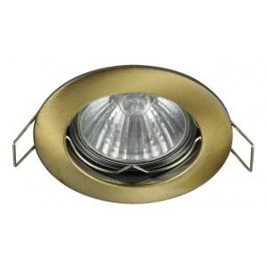 Фото 1 Встраиваемый светильник DL009-2-01-BZ в стиле техно