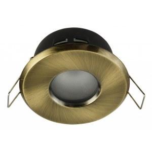 Фото 1 Встраиваемый светильник DL010-3-01-BZ в стиле техно