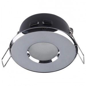Фото 1 Встраиваемый светильник DL010-3-01-CH в стиле техно