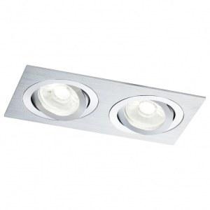 Фото 1 Встраиваемый светильник DL024-2-02S в стиле модерн