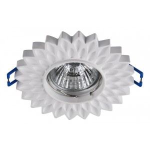 Фото 1 Встраиваемый светильник DL282-1-01-W в стиле модерн