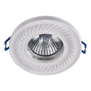 Фото 1 Встраиваемый светильник DL283-1-01-W в стиле техно