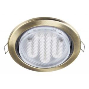 Фото 1 Встраиваемый светильник DL293-01-BZ в стиле техно