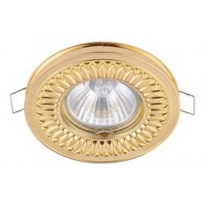 Фото 1 Встраиваемый светильник DL301-2-01-G в стиле модерн