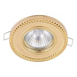 Фото 1 Встраиваемый светильник DL302-2-01-G в стиле модерн