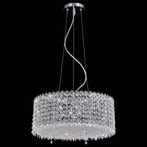 Фото 2 Подвесной светильник ETERNIDAT SP6 CHROME в стиле классический