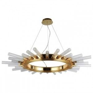 Фото 1 Подвесной светильник FAIR SP15 GOLD D1000 в стиле модерн