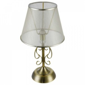 Фото 2 Настольная лампа декоративная FR2405-TL-01-BS в стиле классический