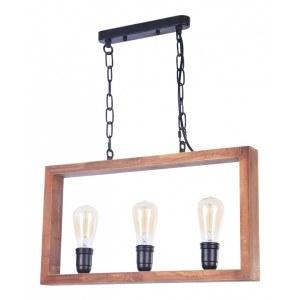 Фото 2 Подвесной светильник FR4560-PL-03-B в стиле техно