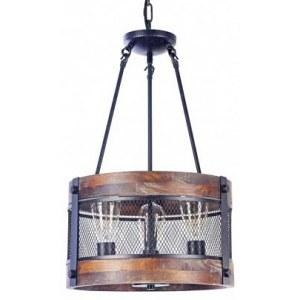 Фото 1 Подвесной светильник FR4561-PL-03-B в стиле техно