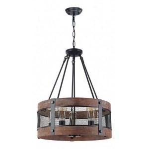 Фото 2 Подвесной светильник FR4561-PL-05-B в стиле техно