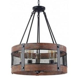 Фото 1 Подвесной светильник FR4561-PL-05-B в стиле техно
