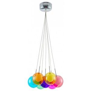 Фото 1 Подвесной светильник FR5174-PL-07-CH в стиле техно
