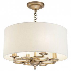 Фото 2 Подвесной светильник H007PL-04G в стиле классический