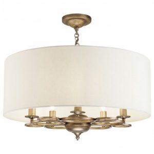 Фото 2 Подвесной светильник H007PL-05G в стиле классический