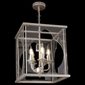 Фото 2 Подвесной светильник H008PL-05G в стиле модерн