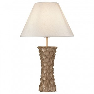 Фото 1 Настольная лампа декоративная H012TL-01G в стиле флористика