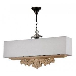 Фото 2 Подвесной светильник H034-PL-04-R в стиле флористика