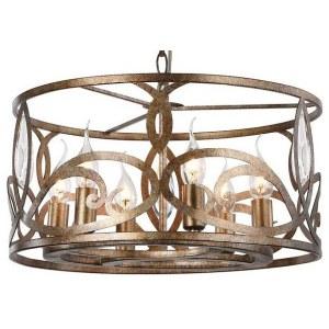 Фото 1 Подвесной светильник H237-06-G в стиле классический