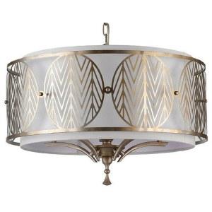 Фото 1 Подвесной светильник H425-PL-05-G в стиле флористика